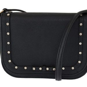 Kate Spade Large Carsen Black Crossbody Bag